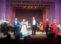Российские, молдавские и приднестровские артисты на одной сцене