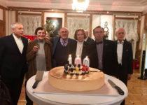 Слева направо Андрей Устинов, И.А.Медведева,Дмитрий Рахманов, В.В.Рубцова, директор Музея А.И.Лазарев, А.Куртев (Болгария)