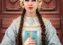 Посещение царевной женского монастыря.